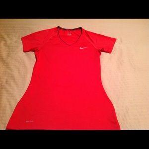 Nike Pro workout shirt size medium.